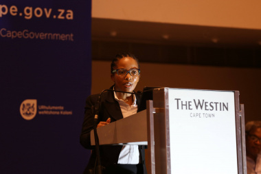 Port of Cape Town's Port Manager, Mpumi Dweba-Kwetana at the second Port of Cape Town stakeholder workshop