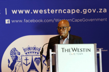 CEO of Transnet Port Terminals, Mr. Velile Dube at the second Port of Cape Town stakeholder workshop