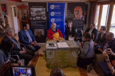 Signing of the Co-operative Agreement between the Denis Goldberg Legacy Foundation Trust, the Hout Bay Museum Board of Trustees and the Department of Cultural Affairs and Sport in October 2018