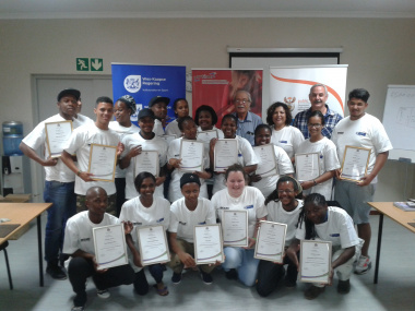 Proud EPWP Participants Successfully Completed Training