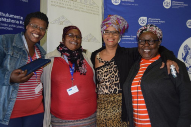 Proudly indigenous representatives at the Metro workshop