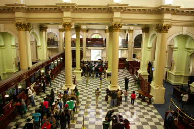Cape Town museum at Standard Bank building