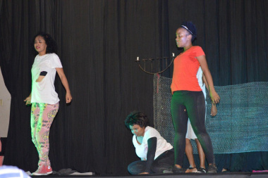 Redefined 101 had the audience in tears with their moving story at the Eden Drama Festival