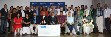 Representatives from the Boland sport federations, sport council and department.