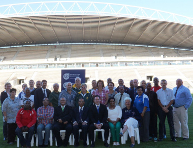 Representatives from the Metropole sport federations and clubs, Western Province Sports Council and DCAS.