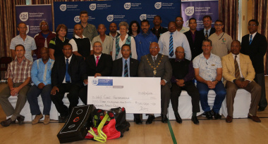 Representatives from the West Coast sport federations and clubs, West Coast Sport Council, Saldanha Bay Municipality and DCAS.
