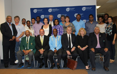 Representatives from various sporting bodies attended the workshop.