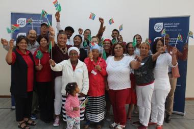 Representatives of Bredasdorp pledged to live together in harmony
