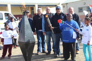 Representatives of DCAS, WCPSC, SAPS and the Philadelphia community