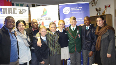 Representatives of DCAS with the Western Cape team that will compete in China