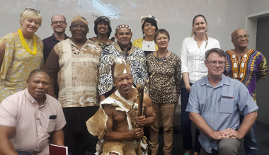 Representatives of the Khoi and San communities travelled from as far as Knysna to attend the launch of the Afri-Kwê Language Project in Stellenbosch on Saturday.