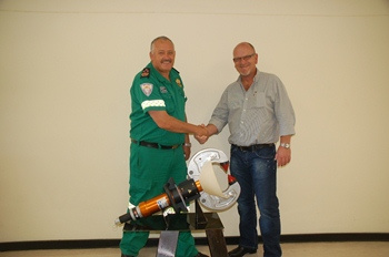 EMS First to Purchase New Structural Collapse Rescue Tool