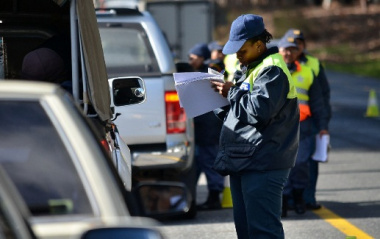 Provincial Traffic held 26 alcohol blitz roadblocks across the Western Cape this weekend.