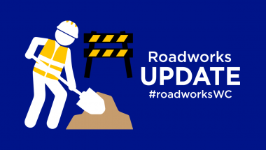 Roadworks on R60 and R62