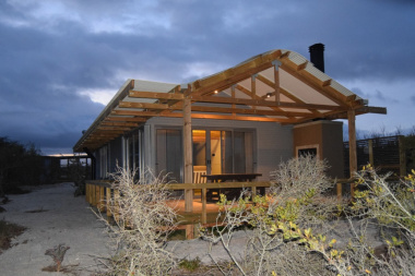 The cabins have been constructed with conservation in mind and have minimal impact on the environment.