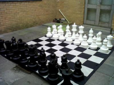 Rocklands Library Chess Board