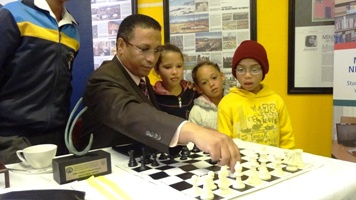 Chess at the Rocklands Library