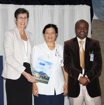 Dr Beth Engelbrecht, Rosa Mentoor and Dr Mukosi Matodzi