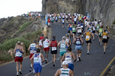 Runners during last year's 56km Ultra Marathon. Photo by Ark Images
