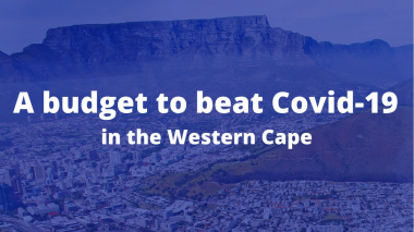Special Adjustment Budget - A Budget to Beat Covid-19 in the Western Cape