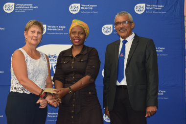 SAFA Cape Town receives funding from Minister Anroux Marais and Richard Buckley