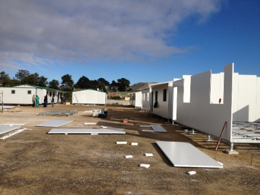 Progress on Temporary School
