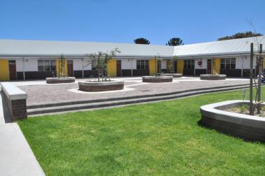Senior phase classrooms.