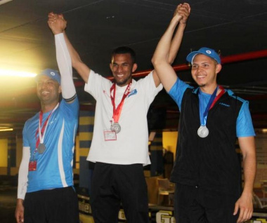 Shamieg Mc Laurie from DCAS took first place in the go-karting event