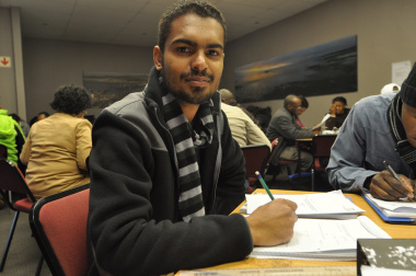 Shuaib Julius says he will use the training to further his company's position.