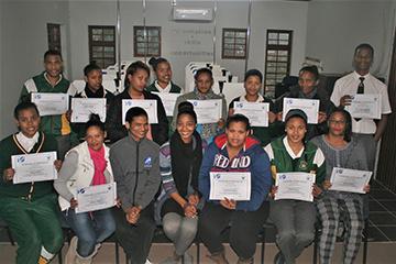 Slangrivier e-Centre graduating group