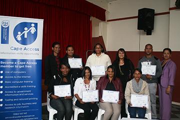 Slangrivier-e-Centre graduating group 3