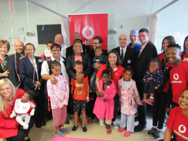 Minister Mbombo visited the 43 children receiving plastic and reconstructive surgery as part of the Tygerberg Academic Hospital's Smile week.