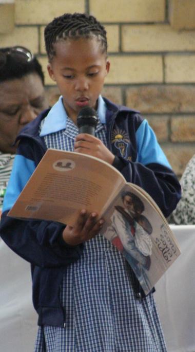 S'nalo Madyo of Isiphiwo Primary School.