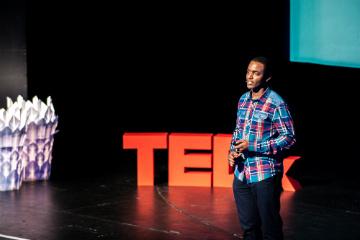 Speaker at TEDx TableMountain