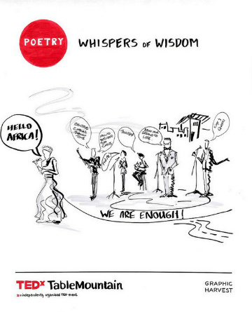 Whispers of wisdom poster
