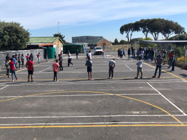 sports activities at West End Primary School