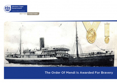 As the centenary of the sinking of the SS Mendi draws to a close DCAS launched its travelling exhibition.