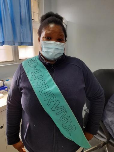 Staff nurse Phelisa Mtwazi