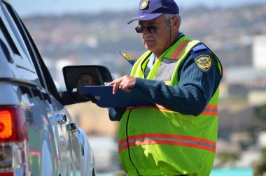 Two hundred and twenty one (221) fines were issued for various traffic violations.