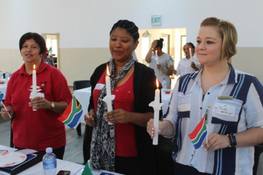 Symbolic activities proudly unified participants