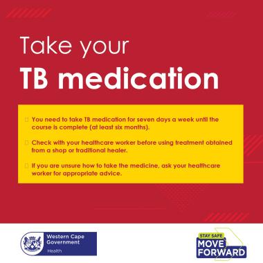 Take your TB Medication