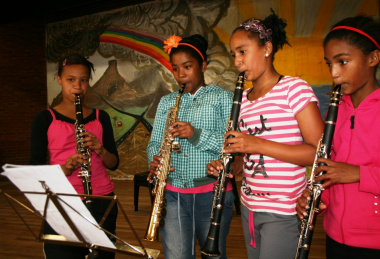 Tania Adams, Marceline Pietersen, Ronel Sauls and Monique Adonis at one of the sessions.