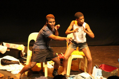 Team Exposive had the audience in stitches in their performance of Affie Kleinplaas