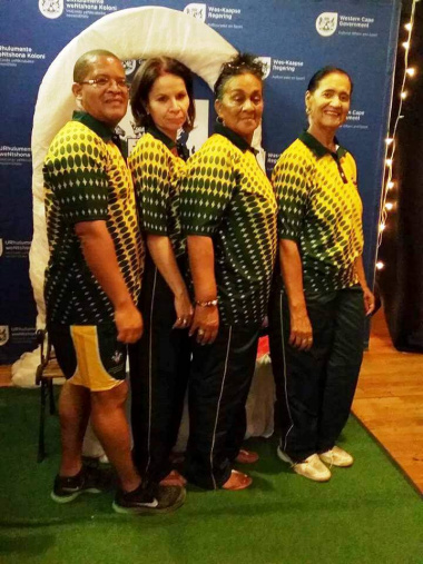 Tennis coaches of the Central Karoo District  Academy of Sports