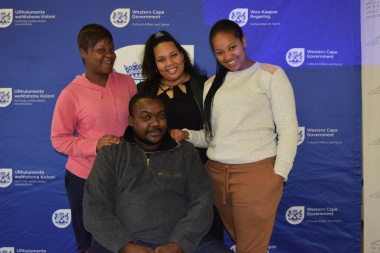 DCAS Thandwa Ntshona and colleagues facilitated the workshop