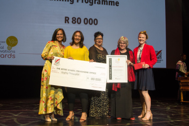 The After School Programme was recognised at the Impumelelo Social innovation awards