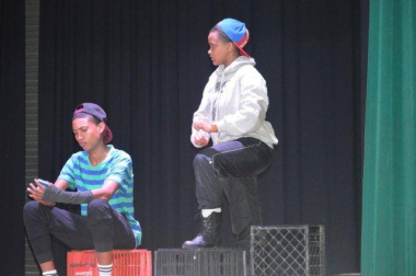 The Albertinia drama group had a blast on the stage