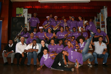 The Art Fusion participants, facilitators and project managers