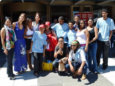 The Beaufort West Community Theatre developed their own stage production called Laugh Out Loud.
