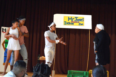 The Bonnievale Culture Project surprised the audience with their musical